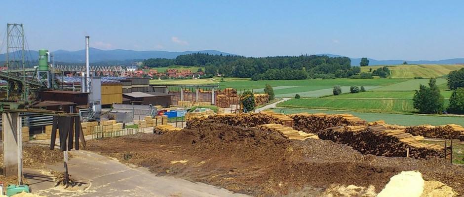 Den Rohstoff für Pellets liefern Koppelprodukte aus Sägewerken wie Sägespäne, die noch vor 20 Jahren Abfall waren. Foto: djd/DEPI