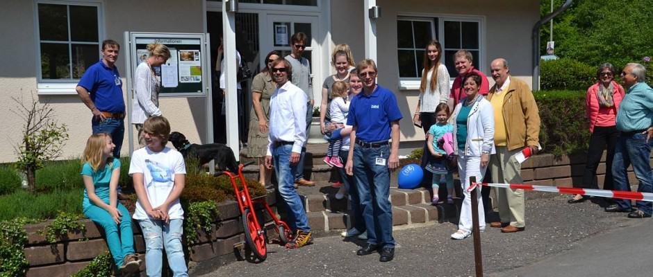 Auch bei NordHaus waren die Besucher begeistert und strahlten mit der Sonne um die Wette. Foto: BDF/Hannott