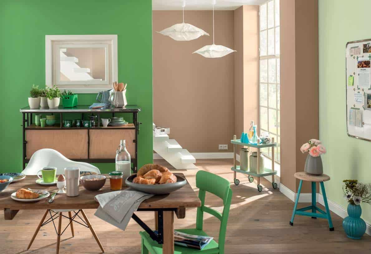 Aktuelle Farbțne bei der Wandgestaltung РJetzt auf Immobilien ...
