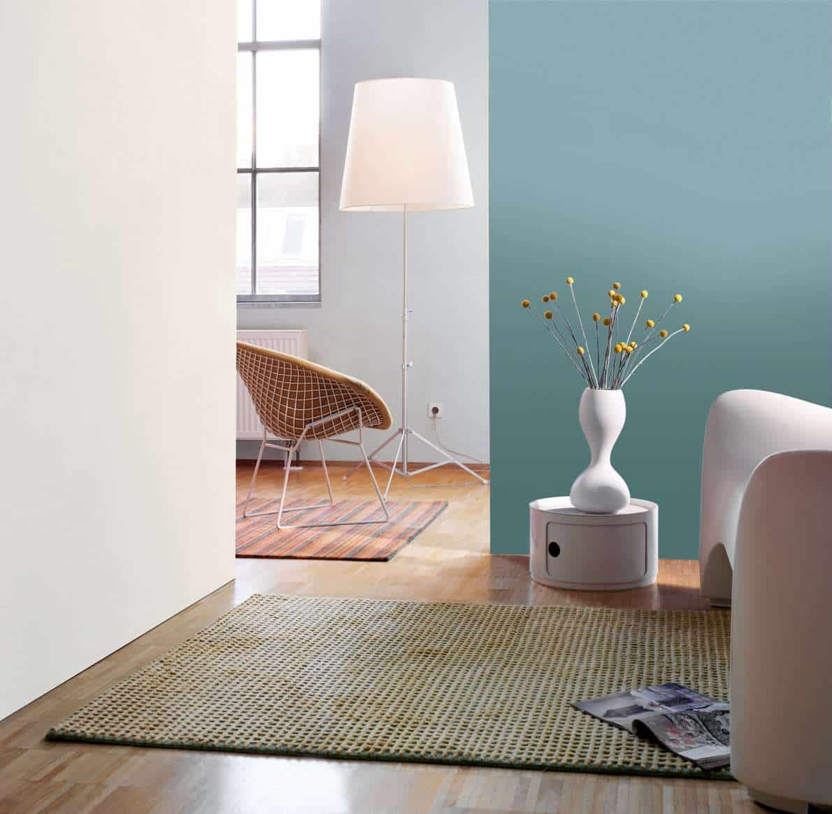 aktuelle farbt ne bei der wandgestaltung jetzt auf. Black Bedroom Furniture Sets. Home Design Ideas