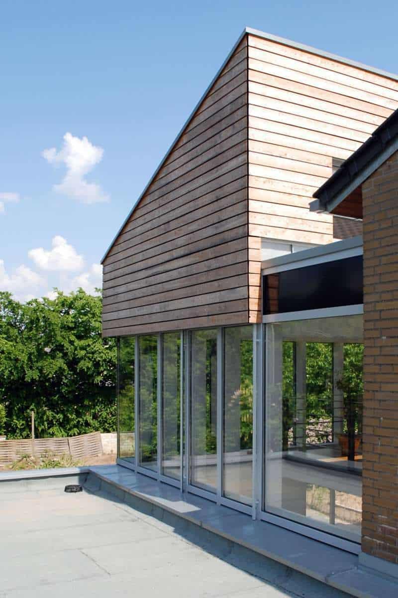 Amüsant Holz Anbau Haus Beste Wahl Ein Holzanbau Ans Schafft Barrierefreien Wohnraum Auf