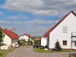 Einfamilienhaussiedlung Bild: LBS