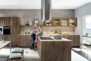 Das Herzstück der Wohnung ist die Küche: Geborgenheit und Gemütlichkeit kommen hier schnell auf. (Foto: AMK)