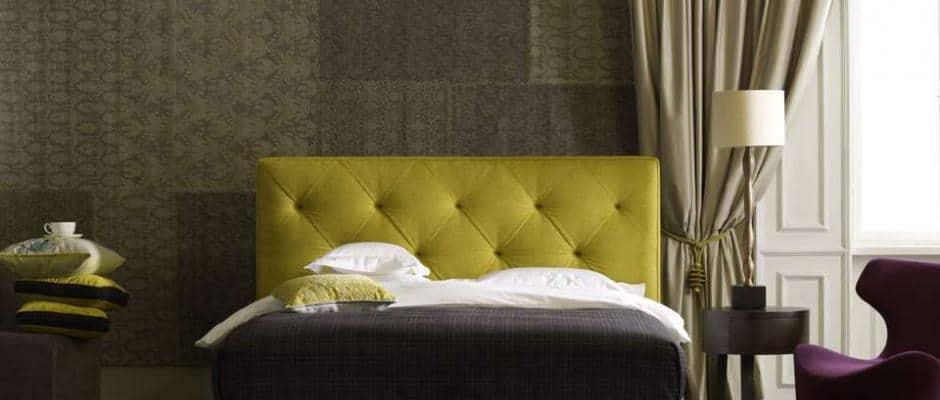 Schlafen wie auf Wolken: Das Boxspringbett wirkt luxuriös, modern und kuschelig. Foto: VDM/Schramm