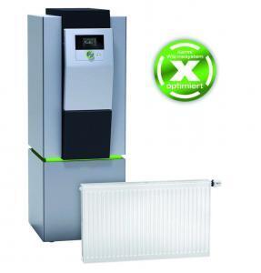 Die x-change Wärmepumpen stehen für effizientes, energiebewusstes Heizen. Die therm-x2 Energiespar-Heizkörper sind für wohlige Wärme einfach und schnell ausgetauscht. Foto: Kermi GmbH/akz-o