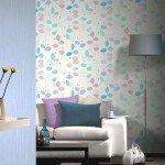 """Tapeten in zarten Pastelltönen beleben Räume und lassen sich toll miteinander kombinieren. Zum Beispiel """"x-treme colour"""" von P+S. Foto: djd/Deutsches Tapeten-Institut GmbH"""