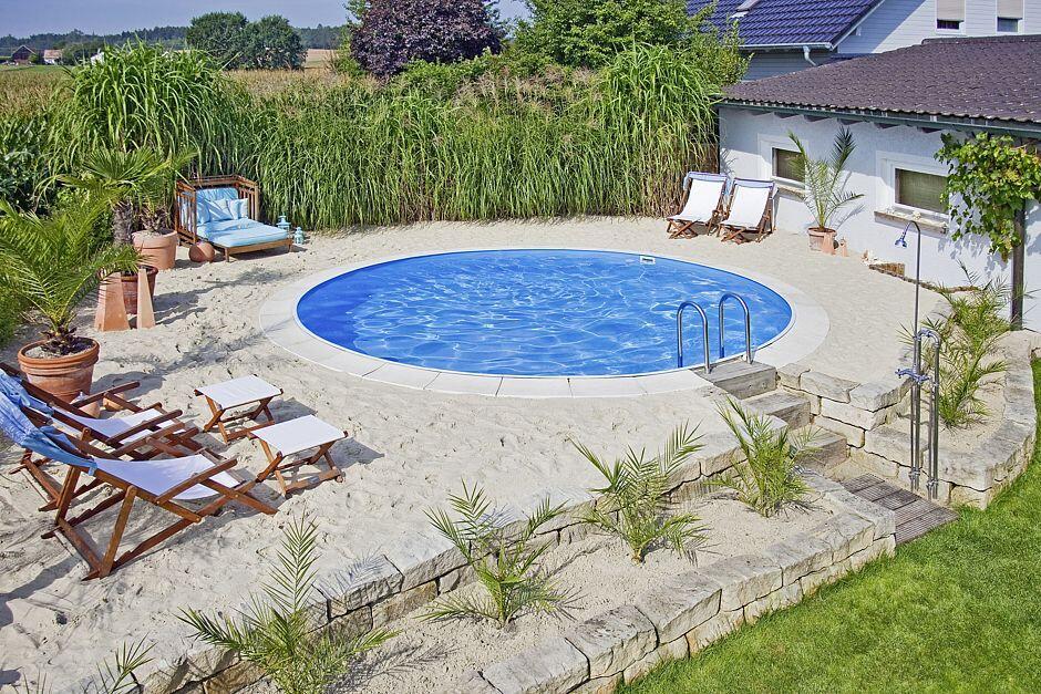 Pool planung geh rt in profih nde jetzt auf immobilien for Garten pool korfu 1