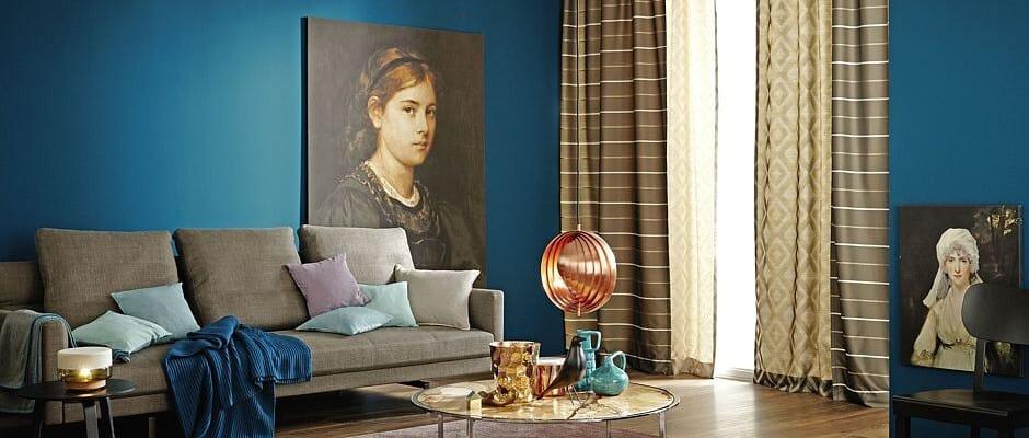 Die Trendfarbe Dunkelblau Bringt Ferienstimmung Ins Zuhause