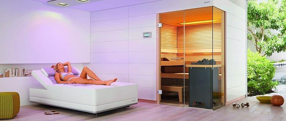 Mit Licht und Wärme dem Stress entfliehen Foto: Klafs GmbH & Co. KG/akz-o