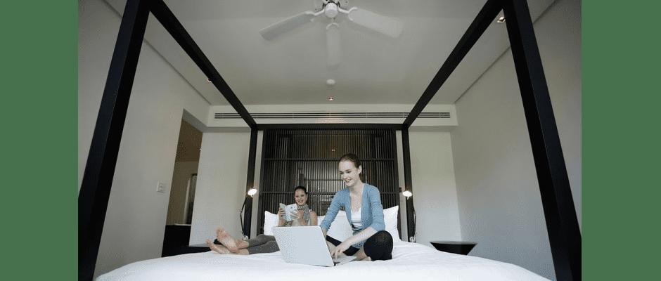 Ventilatoren sorgen für Abkühlung