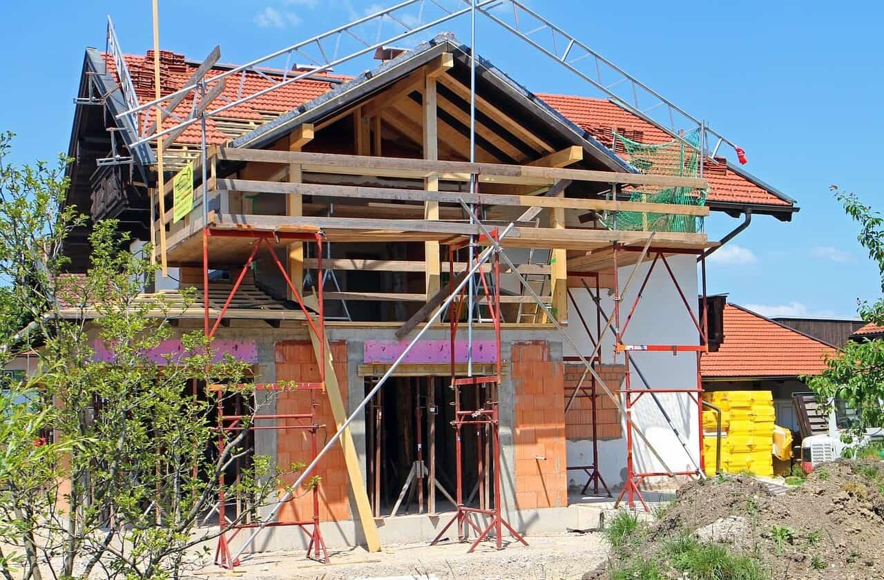 Bautrockner beim Hausbau sind oft notwendig um die Baufeuchte zu entfernen