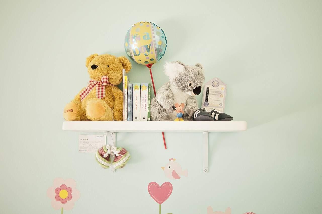 Zimmer für das neue Baby gestalten