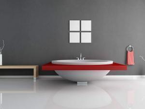 Komfortable Badezimmereinrichtungen zum Wohlfühlen