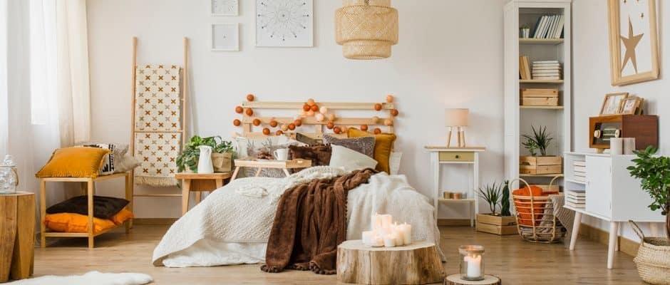 So kann ein gemütliche Schlafzimmer im Hygge-Stil aussehen Foto: Photographee.eu / shutterstock.com