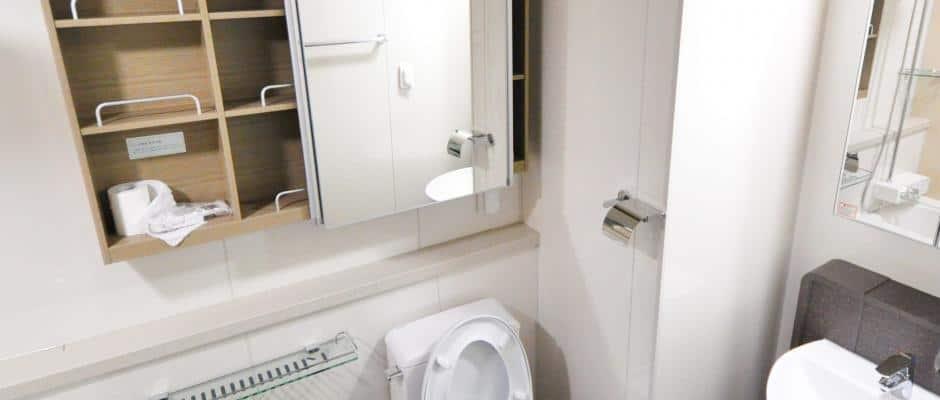 Spiegelschrank als optimale Lösung für kleine Bäder