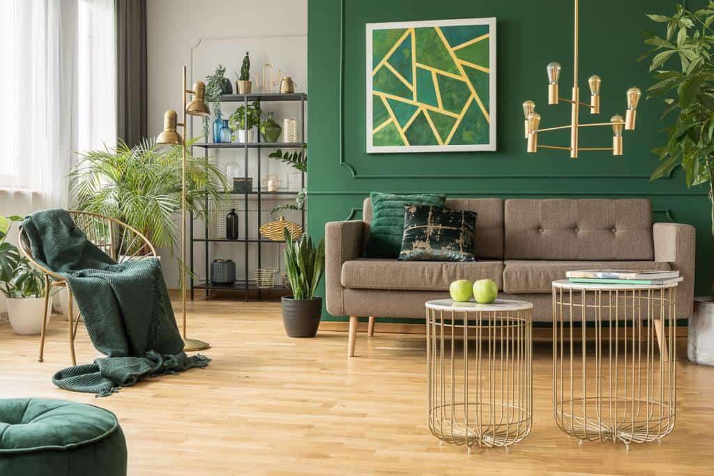 Der Retro-Stil ist geprägt durch besondere Materialien und geschwungene Formen