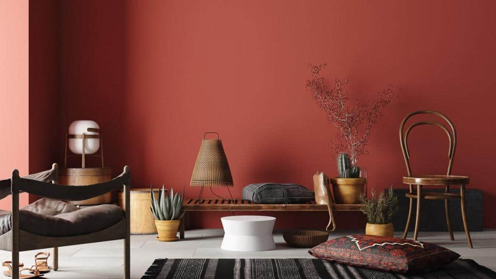Tipps für kleine Räume: dunkle und kühle Farbtöne sorgen für mehr Tiefenwirkung