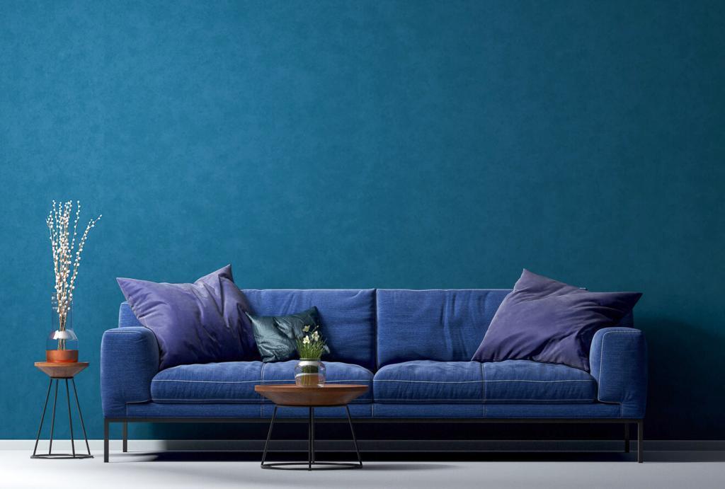 Das Farbkonzept für das Wohnzimmer