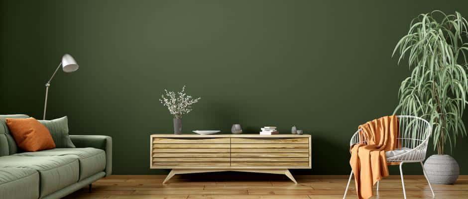 Individuelle Wohnzimmergestaltung mit Massivholzmöbel