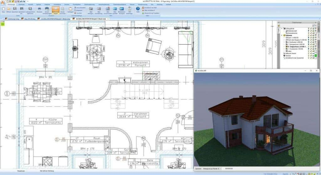 Hausplanung mit ArCADia-soft