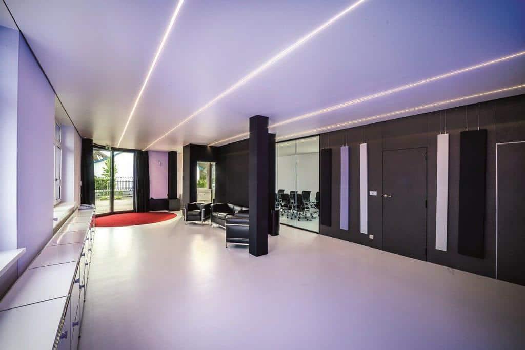 LED-Profile als Deckenbeleuchtung