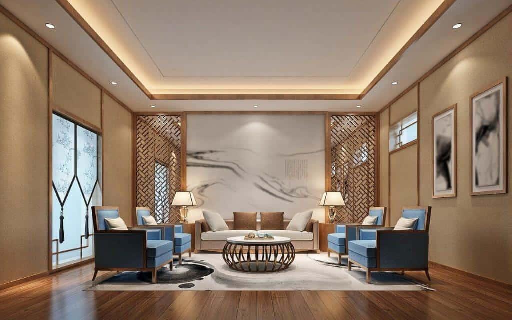 LED-Profile als Stimmungslicht im Wohnzimmer