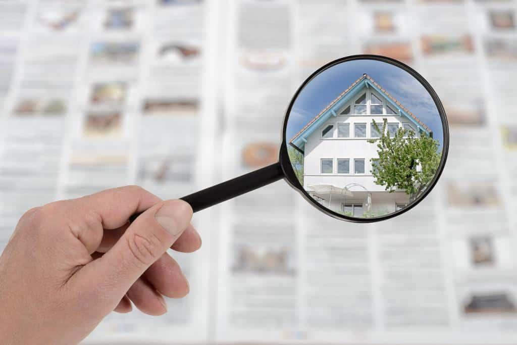 Immobilieinserat mit aussagefähigen Bild
