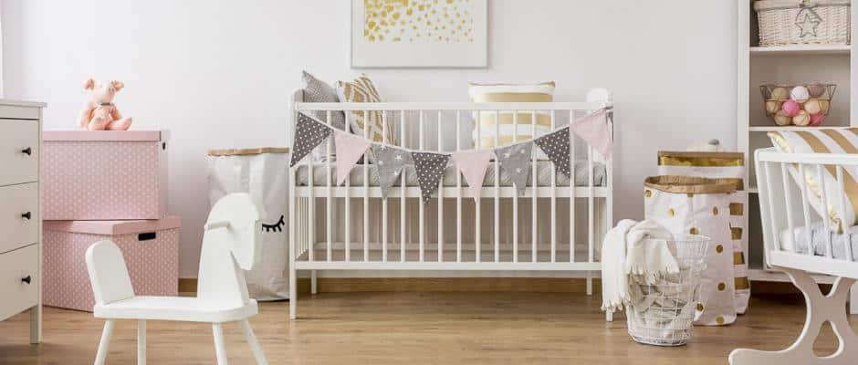 Dekoration eines Babyzimmers