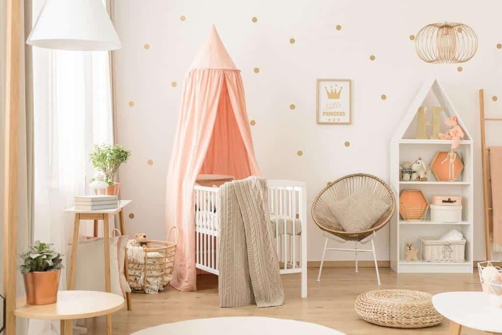 Die richtige Dekoration macht das Babyzimmer gemütlich