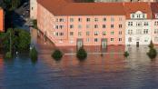 Überschwemmung nach Starkregen