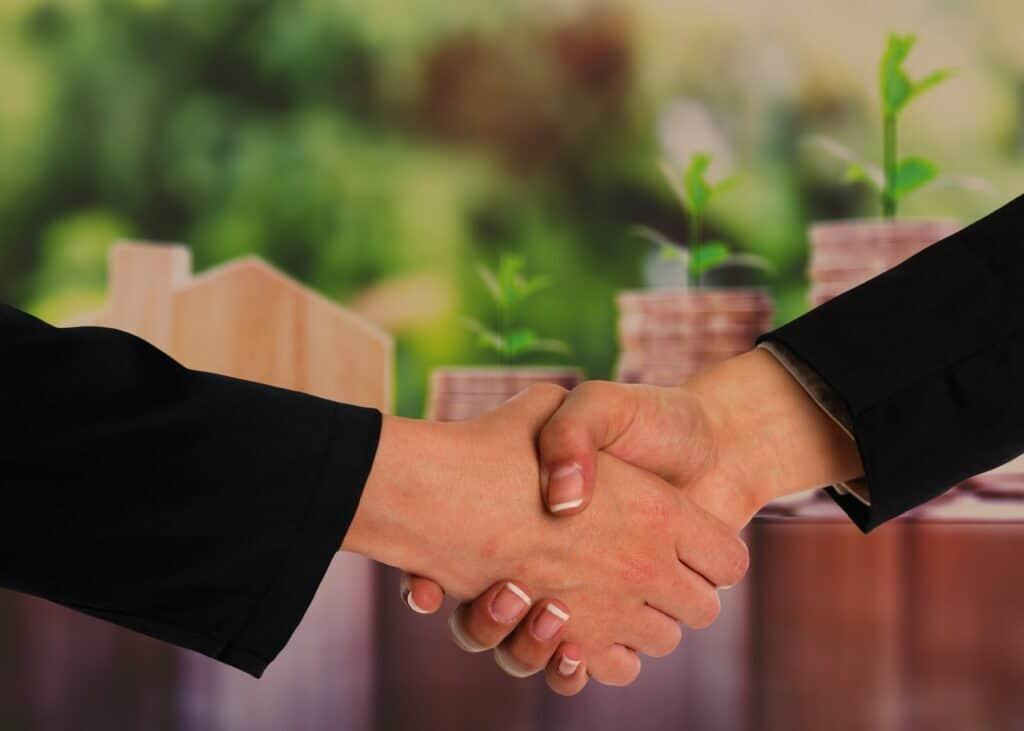 Mezzaninkapitalgeber und Nehmer